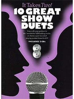 It Takes Two: 10 Great Show Duets Books and CDs | Piano, Vocal & Guitar (with Chord Symbols)