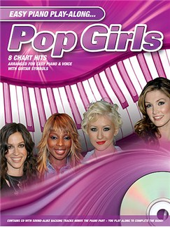 Easy Piano Play-Along: Pop Girls Books and CDs | Piano, Vocal & Guitar