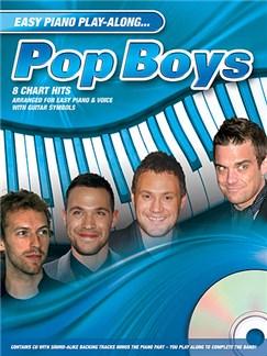 Easy Piano Play-Along: Pop Boys Books and CDs | Piano, Vocal & Guitar