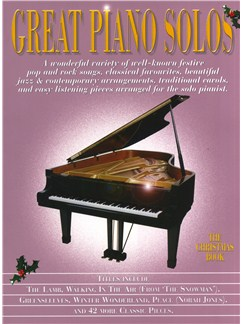 Great Piano Solos - The Christmas Book Books | Piano