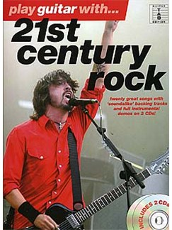 Play Guitar With... 21st Century Rock CD et Livre | Tablature Guitare