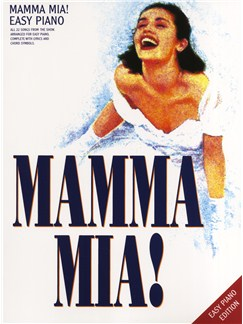 Mamma Mia! - Easy Piano Edition Books | Piano, Vocal & Guitar (with Chord Symbols)