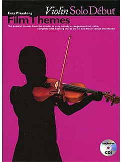 Solo Debut: Film Themes - Easy Playalong Violin Books | Violin