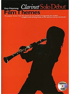 Solo Debut: Film Themes - Easy Playalong Clarinet Books | Clarinet