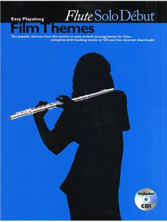 Solo Debut: Film Themes - Easy Playalong Flute Books | Flute