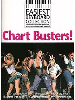Easiest Keyboard Collection: Chart Busters! Books | Keyboard