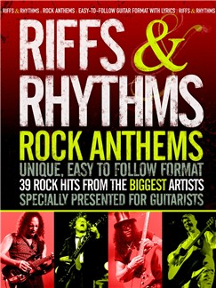 Riffs And Rhythms: Rock Anthems Books | Lyrics & Chords, with Guitar Tab