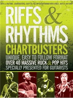 Riffs & Rhythms: Chartbusters Books | Lyrics & Chords with Guitar Tab
