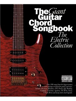 The Giant Guitar Chord Songbook - The Electric Collection Books | Lyrics & Chords