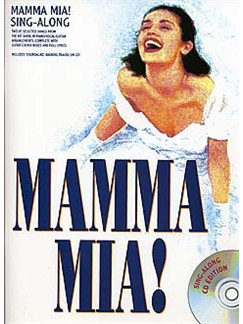 Mamma Mia! - Sing-Along Vocal Selections Books and CDs | Piano, Vocal & Guitar