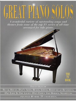 Great Piano Solos - The TV Book Books | Piano