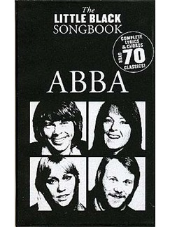The Little Black Songbook: ABBA Books | Lyrics & Chords (with Chord Boxes)