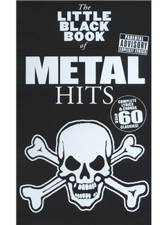 The Little Black Songbook: Metal Books | Lyrics & Chords