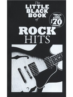 The Little Black Songbook: Rock Hits Books | Lyrics & Chords (with Chord Boxes)