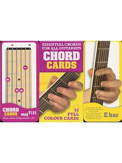 Chord Cards: 52 Essential Guitar Chords  | Guitar