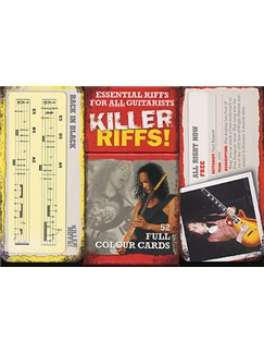 Killer Riffs! 52 Full Colour Cards  | Guitar
