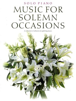 Music For Solemn Occasions Books | Piano