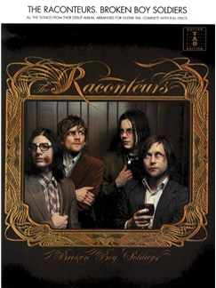 The Raconteurs: Broken Boy Soldiers Books | Guitar Tab