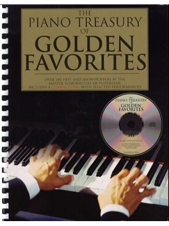 The Piano Treasury Of Golden Favorites Books and CDs | Piano & Vocal