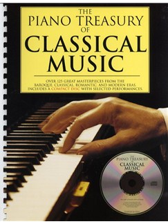 The Piano Treasury Of Classical Music Books and CDs | Piano, Piano Duet