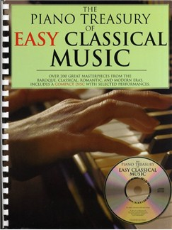 The Piano Treasury Of Easy Classical Music Books and CDs | Piano