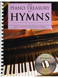 The Piano Treasury Of Hymns Books and CDs | Piano & Vocal