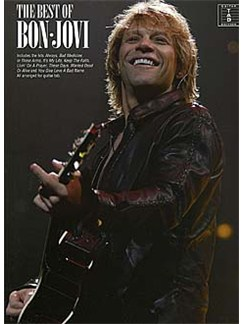 The Best Of Bon Jovi Books | Guitar Tab