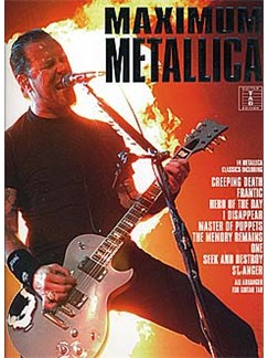 Maximum Metallica Books | Guitar Tab