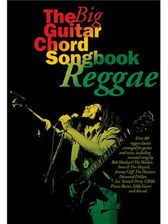 The Big Guitar Chord Songbook Reggae Books | Lyrics & Chords
