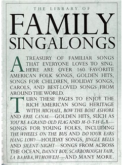 The Library Of Family Singalongs Books | Piano, Vocal & Guitar (with Chord Symbols)