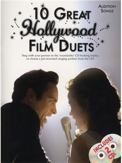Audition Songs: 10 Great Hollywood Film Duets (Book And 2 CDs) Books and CDs   Piano, Voice