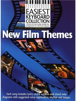 Easiest Keyboard Collection: New Film Themes Books | Keyboard
