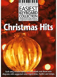Easiest Keyboard Collection: Christmas Hits Books | Melody Line, Lyrics & Chords