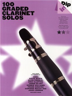 Dip In: 100 Graded Clarinet Solos Livre | Clarinette