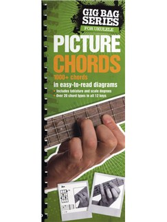 Gig Bag Book of Ukulele Picture Chords Books | Ukulele