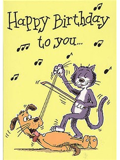 Music Gallery Greeting Cards x16: Birthday Pack  |