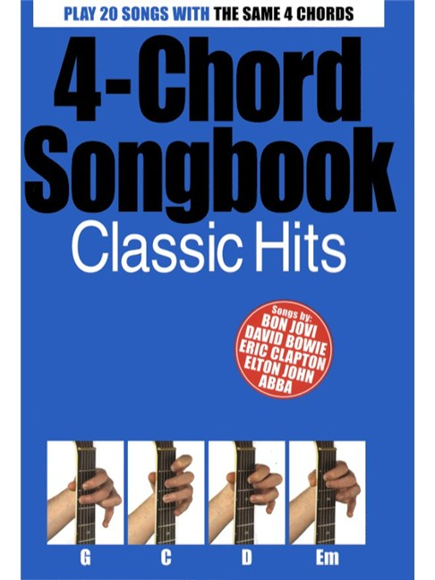 4-Chord Songbook: Classic Hits - Guitar Sheet Music - Sheet Music ...