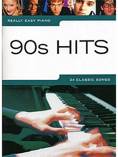 Really Easy Piano: 90s Hits Books | Voice, Piano