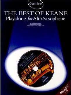 Guest Spot: The Best Of Keane -  Playalong For Alto Saxophone CD et Livre | Saxophone Alto