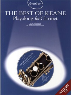 Guest Spot: The Best Of Keane - Playalong For Clarinet Books and CDs | Clarinet