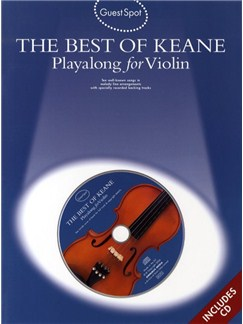 Guest Spot: The Best Of Keane -  Playalong For Violin Books and CDs | Violin