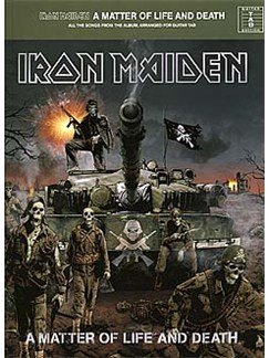 Iron Maiden: A Matter Of Life And Death (TAB) Books | Guitar Tab
