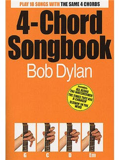 4-Chord Songbook: Bob Dylan Books | Lyrics & Chords