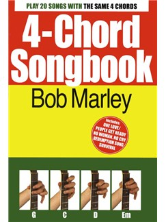 4-Chord Songbook: Bob Marley Books | Lyrics & Chords, Guitar