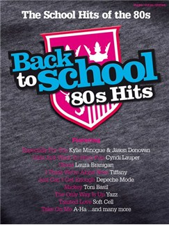Back To School: 80s Hits Books | Piano, Vocal & Guitar (with Chord Boxes)