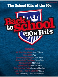 Back To School: 90s Hits Books | Piano, Vocal & Guitar (with Chord Symbols)