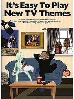It's Easy To Play: New TV Themes Books | Piano, Vocal & Guitar (with Chord Symbols)