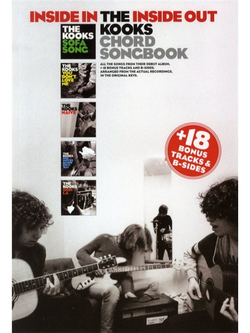 The Kooks: Inside In/Inside Out + Bonus Songs - Lyrics & Chords ...