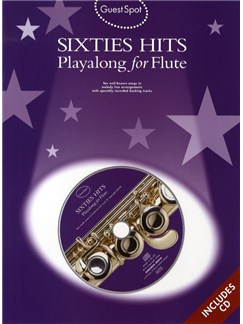 Guest Spot: Sixties Hits Playalong For Flute Books and CDs | Flute