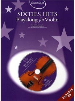 Guest Spot: Sixties Hits Playalong For Violin Books and CDs | Violin